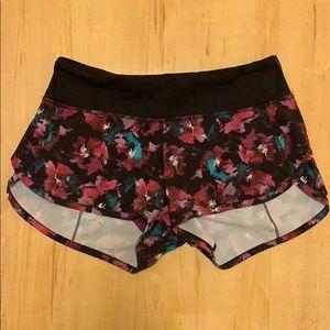 LULULEMON running shorts size 2
